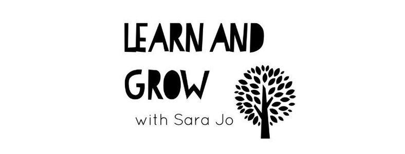 Learn and Grow with Sara (Online)