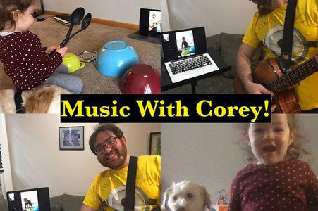 Music with Corey (Online)