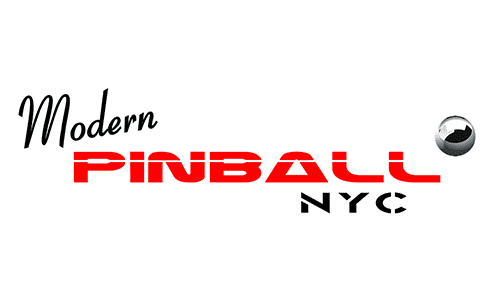 Arcade at Modern Pinball NYC Museum and Party Place